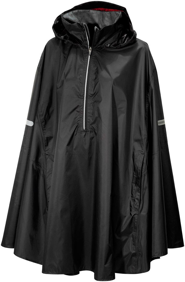 didriksons wheely unisex cape - black