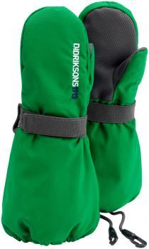 didriksons biggles vintervott barn - jello green