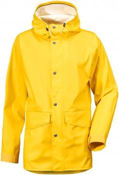 didriksons lennart regnjakke herre - yellow