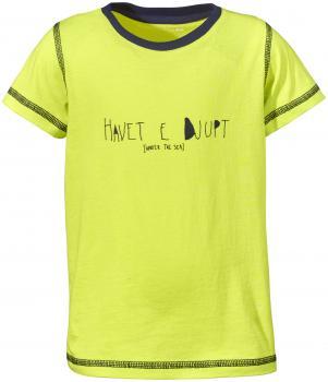 didriksons tatipe t-skjorte barn - maize