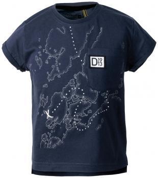 didriksons dione t-skjorte barn - navy