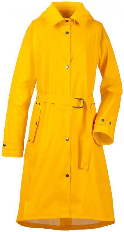 didriksons mizzie galon® regnkåpe - yellow