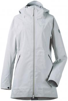 didriksons nelly dameparka - aluminum