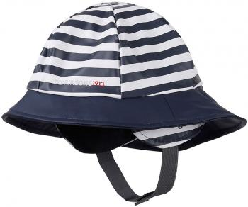 didriksons sydvest printed barn - navy simple stripe