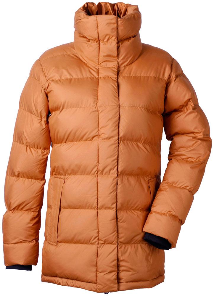 didriksons hedda vinterjakke dame - leather