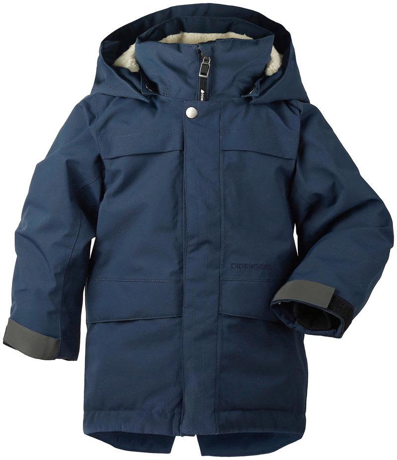 didriksons björling vinterparka barn - navy