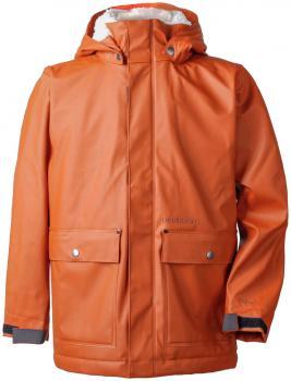 didriksons frænkel regnjakke gutt - leather