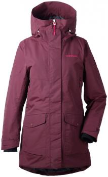 didriksons frida vinterparka dame - wine red