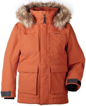 didriksons nordenskiöld vinterparka gutt - leather
