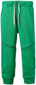 didriksons strokken fleecebukse barn - brightgreen