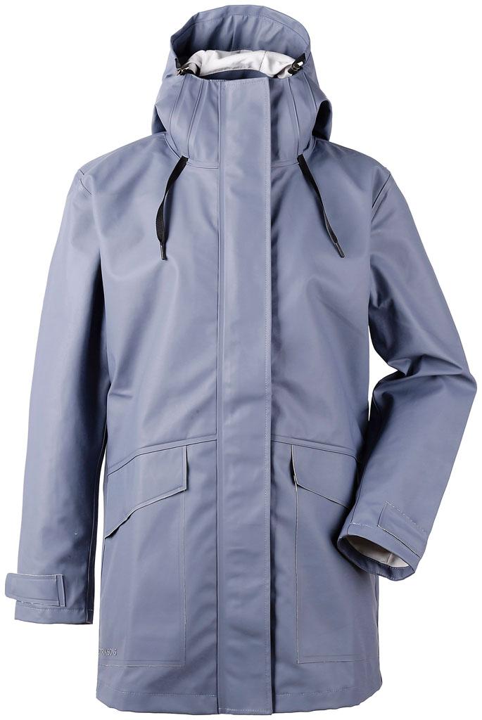didriksons bojan jakke dame - foggy blue
