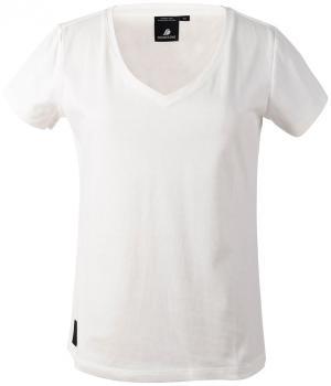 didriksons ebba t-skjorte dame - heritagewhite