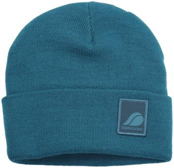 didriksons florö knitted lue - glacier blue