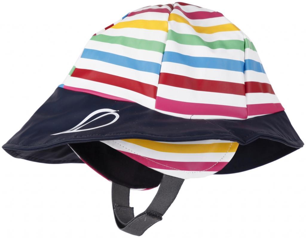 didriksons sydvest printed barn - rainbow/simple stripe